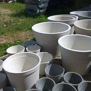 Кашпо ( коллекции). Материал бетон.